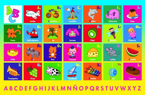 Spanish Alphabet 24 Piece - 2