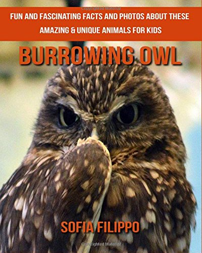 Download Burrowing Owl: Fun and Fascinating Facts and Photos about These Amazing & Unique Animals for Kids PDF