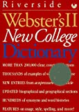 Webster's II New College Dictionary, Merriam-Webster, Inc. Staff and Aridjis Staff, 0395708699