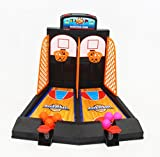 Best Outdoor Basketball Avtion One or Two Player Desktop Basketball Game Best Classic Arcade Games Basket Ball Shootout Table Top Shooting Fun Activity Toy For Kids Adults Sports Fans - Helps Reduce Stress