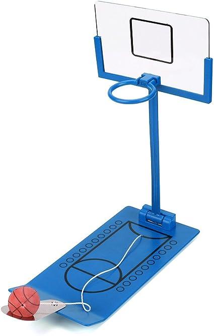Portátil plegable escritorio de baloncesto juego juguete divertido ...