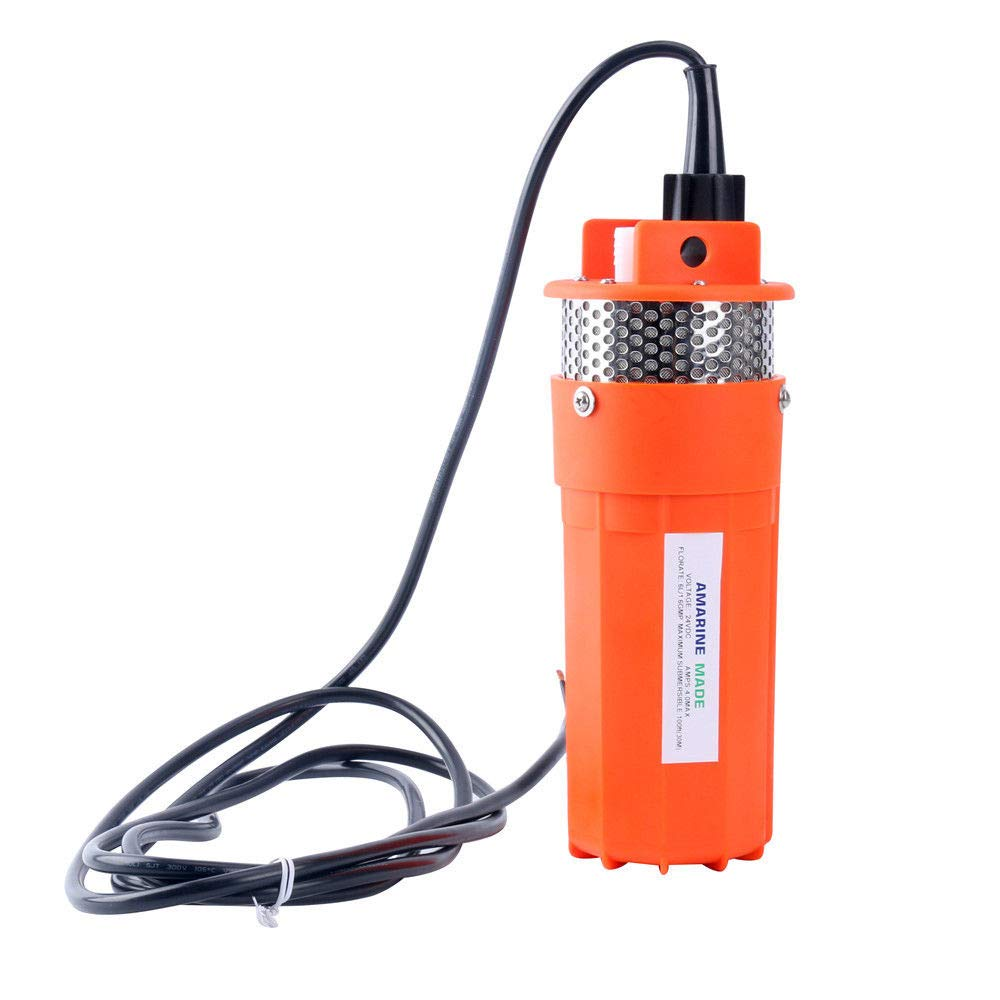 Amarine-made 24V Submersible Deep Well Water Dc Pump/Alternative Energy Solar Battery by Amarine-made