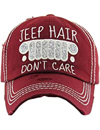 9bf966a1 Womens Baseball Cap Distressed Vintage Unconstructed Embroidered Dad Hat