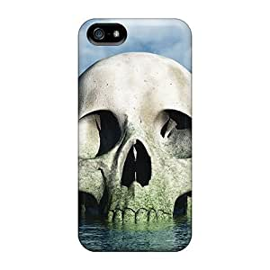 Durable 3d Skull Back Cases/covers For Iphone 5/5s