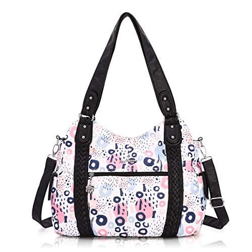 Nylon Hobo Handbags - 7