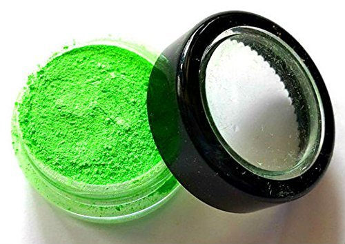 - Bright Green Shimmer Eye Shadow - Neon Green - FREE SHIPPING -