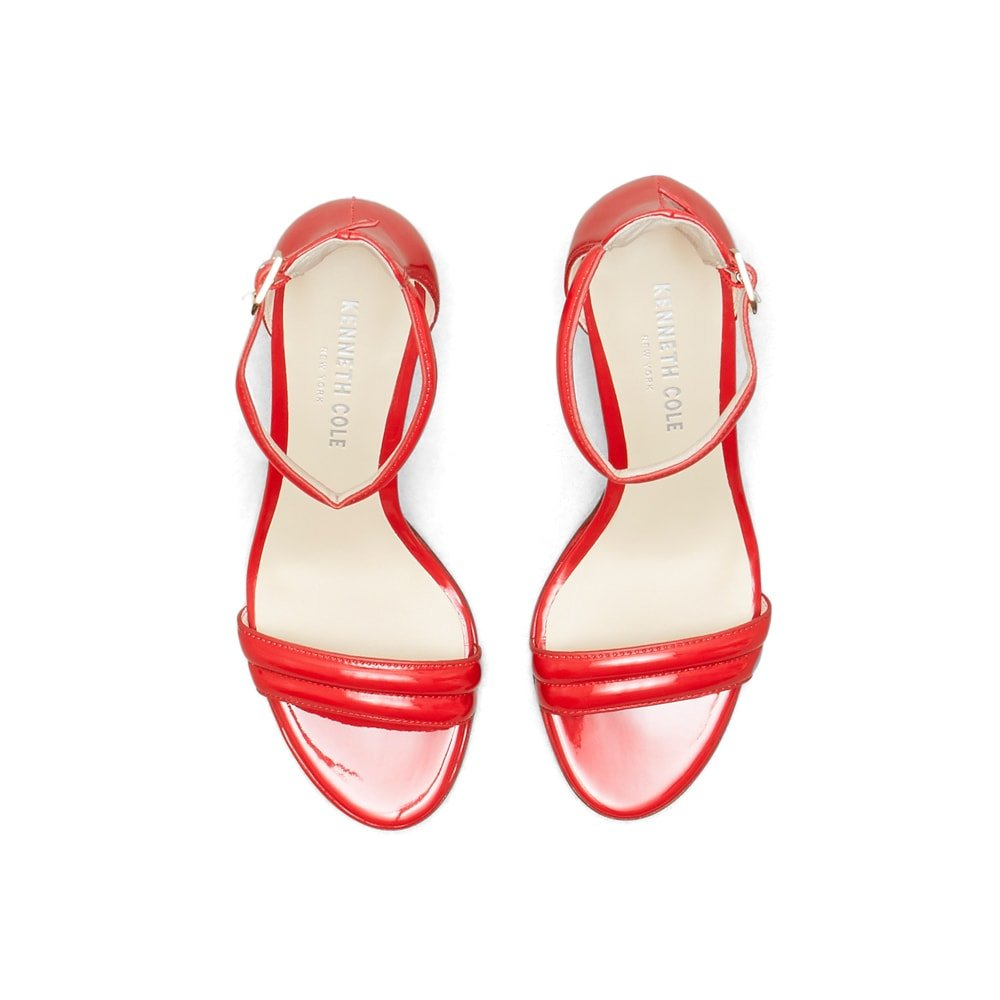 Kenneth Cole New York Mallory Open Toe Heel - Women's B01G4HF2EQ 11 Tan
