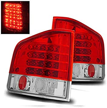 94-04 Chevy S10 GMC Sonoma Pickup Truck Red LED Tail Lights Lamps