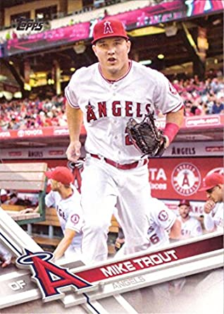 2017 Topps Chrome Mike Trout #200 Angels