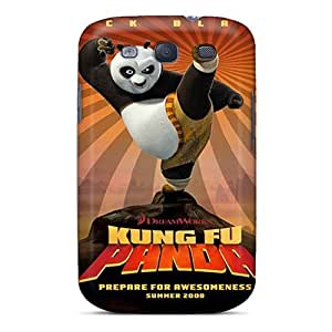 Awesome Design Kung Fu Panda Hard Case Cover For Galaxy S3
