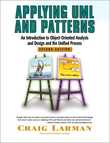 Applying UML and Patterns: An Introduction to Object-Oriented Analysis and Design and the Unified Process (2nd Edition) by Prentice Hall PTR