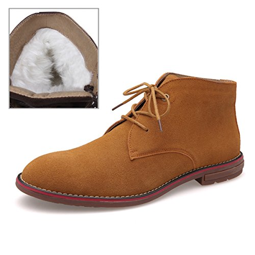 Minitoo ,  Herren Chukka Boots Fur-Lined/Brown