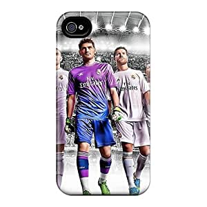 Top Quality Protection Real Madrid 2014 Case Cover For Iphone 4/4s