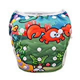 Babygoal Reuseable Washable Adjustable Swim Diapers Fits For Baby boy SWD43F