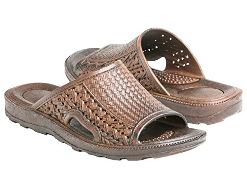 Pali Hawaii Men's Atlas Slide Comfortable Sandals for Home or Outdoors (10, - Bar Collection Slide