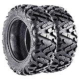 26 Inch All Season Tires - VANACC ATV Tires 26x10x14 Off-Road 26 inch 6PR 26x10-14 Set of 2