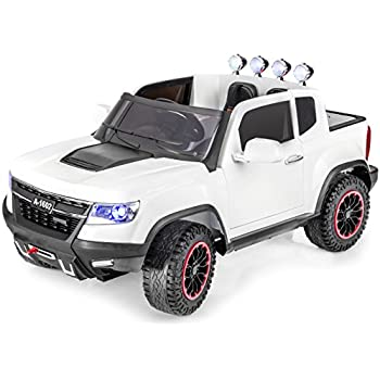 exclusive edition 4x4 big gm chevy heavy duty style kids ride on truck toy car