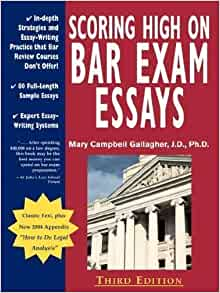 scoring high on bar exam essays cd Sample bar exam study schedule can help a bar candidate who is working long hours in a large law firm in midtown manhattan scoring high on the bar exam essays: book and cds search for: categories affirmative action bar admission or listen to mbe cd (pick one and stick to it) on the.