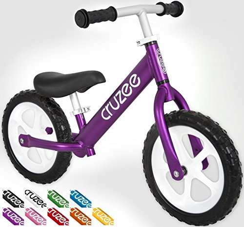 New Cruzee UltraLite Balance Bike (4.4 lbs) for Ages 1.5 to 5 Years