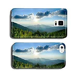 Sunrise over Blue Ridge Mountains Scenic Overlook cell phone cover case Samsung S6