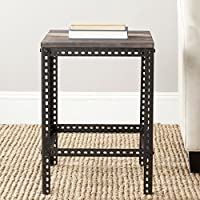 Safavieh American Homes Collection Clayton Dark Brown End Table