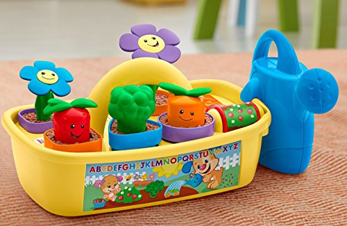 51999rraLSL - Fisher-Price Laugh & Learn Smart Stages Grow 'n Learn Garden Caddy (Amazon Exclusive)