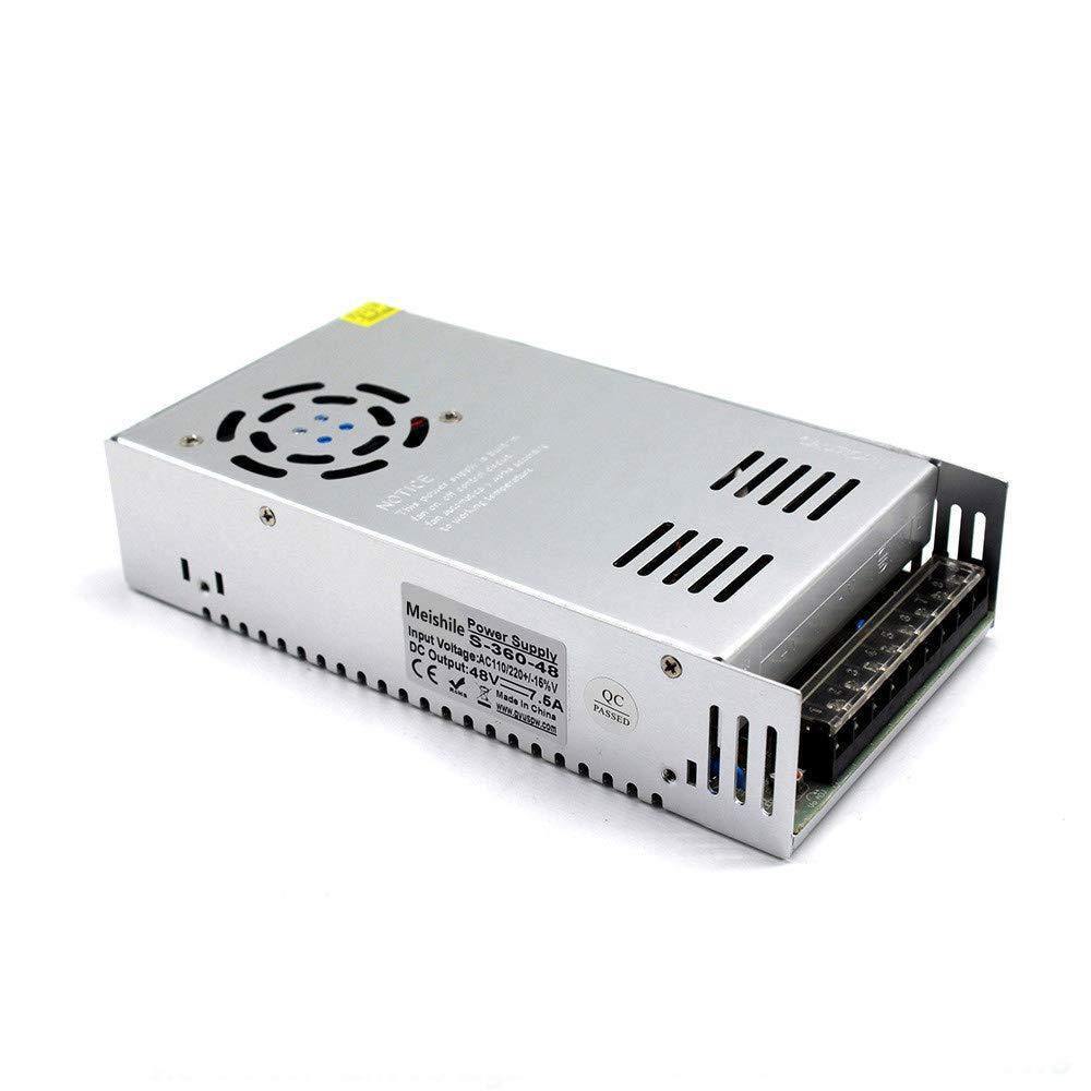ausr/üstungen Motor Transformator CCTV 110//220VAC-DC48V Switching Power Supply 350 Watts 48V 7.3A 350W LED Fahren Schaltnetzteil Die Industrielle Energieversorgung Monitor