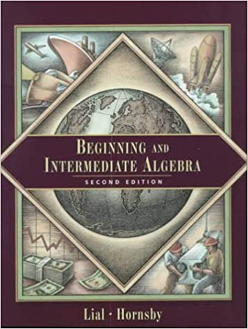 Beginning and intermediate algebra 2nd edition margaret l lial beginning and intermediate algebra 2nd edition 2nd edition fandeluxe Image collections