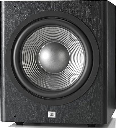 Serie JBL SUB 260P Studio 2 Subwoofer amplificado Deep bass de 12 pulgadas y 300 W, colores vinilo y negro