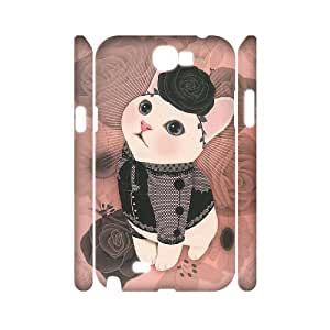 IPHONE Phone Case Of cat,Hard Case !Slim and Light weight and won't fade, Scratch proof and Water proof.Compatible with All Carriers Allows access to all buttons and ports. For Samsung Galaxy Note 2 N7100