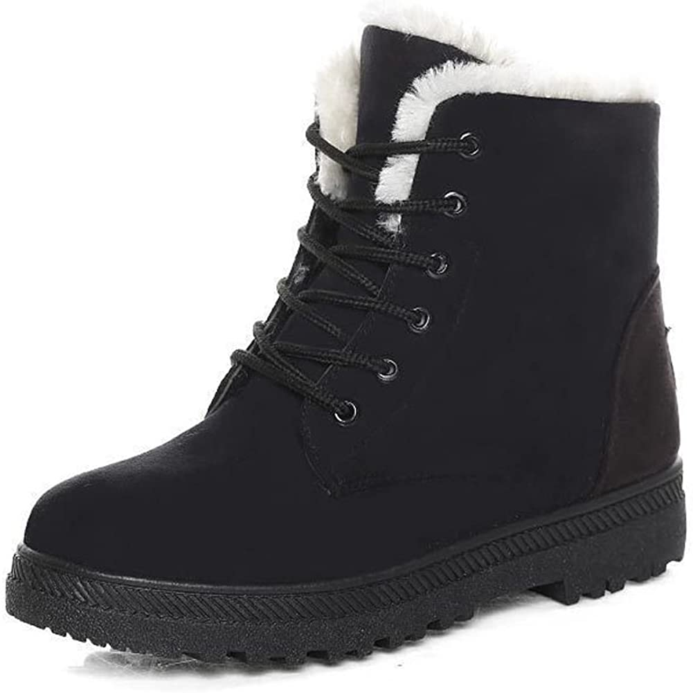 NOT Winter Fur Snow Boots Warm Sneakers
