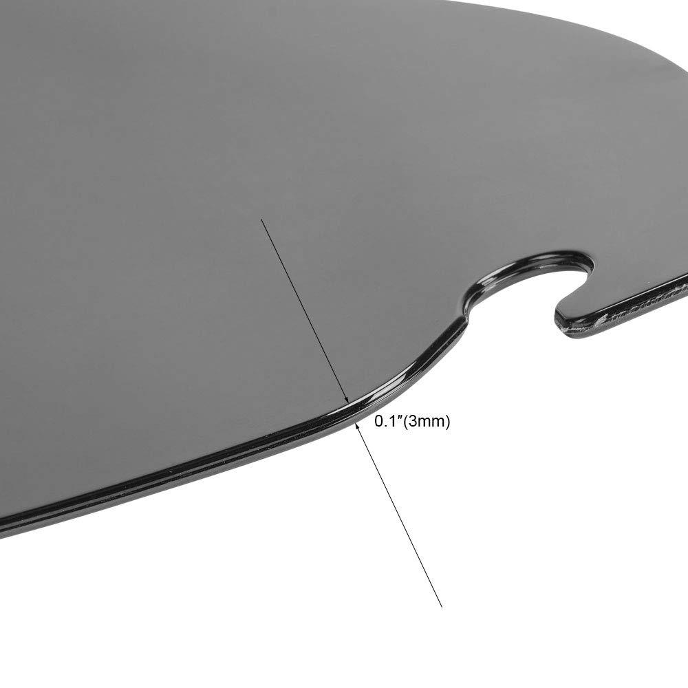 Windshield Windscreen 6 Inch for Touring Electra Glide Street Glide 1996-2013 Black