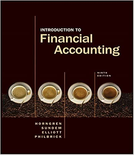 Book Introduction to Financial Accounting (Charles T Horngren Series in Accounting)