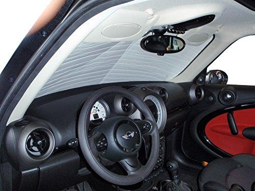 HeatShield The Original Auto Sunshade, Mini Cooper Countryman SUV 2011, 2012, 2013, 2014, 2015, 2016, Silver Series