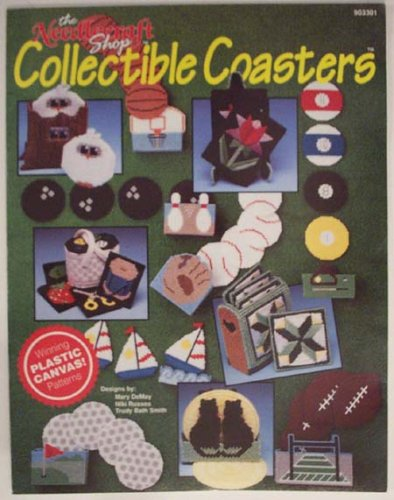 The Needlecraft Shop Collectible Coaster Plastic Canvas Craft Book (903301) - Collectible Coasters