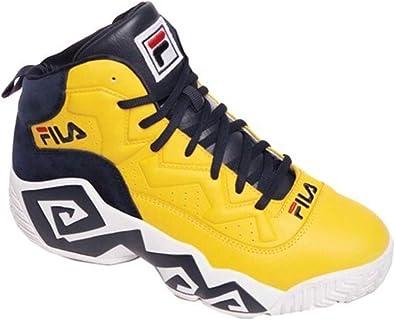 Fila Men's MB Heritage Sneaker, Yellow