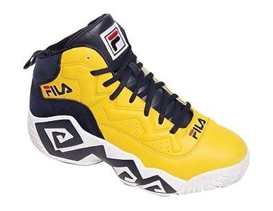 86d08451 Fila MB Heritage Sneaker,Yellow 13