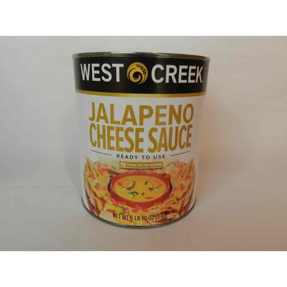 Advance Food Products Advanced Food Products West Creek Contigo Jalapeno Cheese Sauce, Number 10 Can -- 6 per case.
