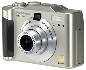 Panasonic Lumix DMC-LC43 4MP Digital Camera w/ 3x Optcial Zoom