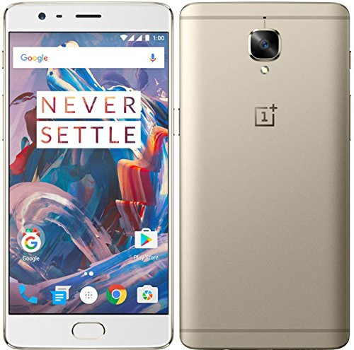 "OnePlus 3 A3000 64GB Soft Gold 5.5"" Dual Sim, GSM Unlocked U"
