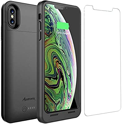 iPhone XS Max Battery Case Qi Wireless Charging Compatible, Alpatronix BXXt Max 6.5-inch 3500mAh Ultra Slim Portable Rechargeable Protective Charger for iPhone XS Max Juice Bank Power Case - Black - 4022354 , B07H84Y3Q6 , 454_B07H84Y3Q6 , 41.95 , iPhone-XS-Max-Battery-Case-Qi-Wireless-Charging-Compatible-Alpatronix-BXXt-Max-6.5-inch-3500mAh-Ultra-Slim-Portable-Rechargeable-Protective-Charger-for-iPhone-XS-Max-Juice-Bank-Power-Case-Black-454_B07H