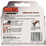 Personna, M5 Magnum razor Blades with Trimmer, 24