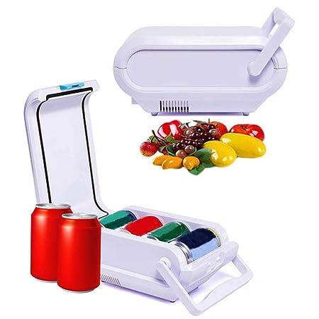 jaspenybow Nevera eléctrica para Coche, refrigerador y Calentador ...