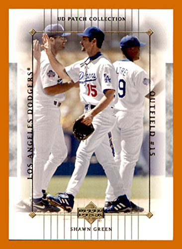 2003 Upper Deck Patch - 2003 Upper Deck UD Patch Collection #53 Shawn Green LOS ANGELES DODGERS