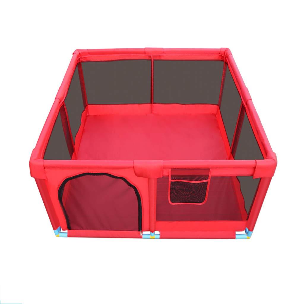 新品?正規品  赤ん坊のゲームのベビーサークルの赤、幼児の這う安全柵の運動場 B07QL23825 B07QL23825, マルサク佐藤製材:4d66d6de --- a0267596.xsph.ru