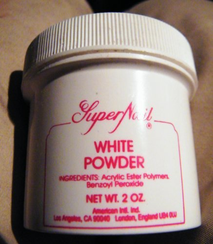 White Powder Super Nail (Super Nail Acrylic Powder White with Complete Instructions to do a Professional Job |)
