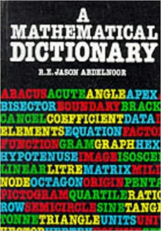 Image result for Mathematical dictionary abdelnoor