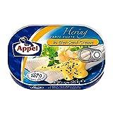 Appel Hering in Eier-Senf-Creme