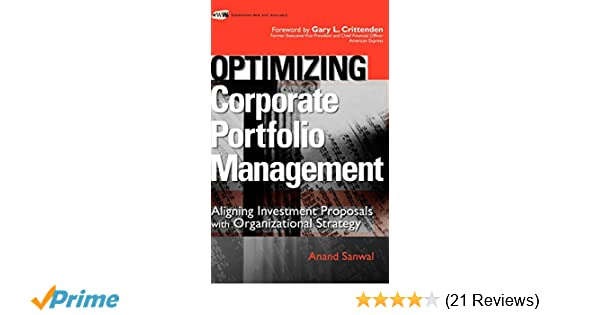 Amazon com: Optimizing Corporate Portfolio Management: Aligning