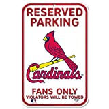 MLB St. Louis Cardinals 11-by-17 inch Sign